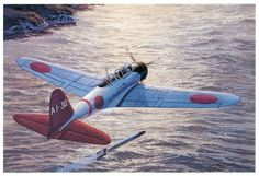 Kate ~ Nakajima ~ Pearl Harbor Images Low flying Zeke's from Hiryu strafe Wheeler Field, by Tom Freeman ~ BFD Navy Aircraft, Ww2 Aircraft, Fighter Aircraft, Military Aircraft, Pearl Harbor Day, Pearl Harbor Attack, Military Art, Military History, Imperial Japanese Navy