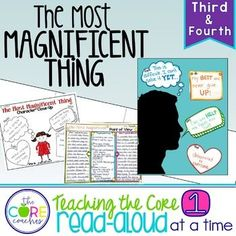 The Most Magnificent Thing: Interactive Read-Aloud Lesson Plans Activities 3-4