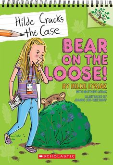 Bear on the Loose!: A Branches Book (Hilde Cracks the Case by Hilde Lysiak, Matthew Lysiak 1338141589 9781338141580 Baby Learning, Mystery Series, Chapter Books, Book Reader, Cool Cats, Book Series, Book Format, Two By Two, Bear
