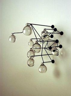 Caldwell Untitled W. Wall Sculptures, Sculpture Art, Organic Art, Minimal Decor, Conceptual Design, Light Of My Life, Installation Art, Decoration, Metal Art