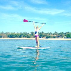 #ROXYOutdoorFitness ambassador @Gillian Lanyon Gibree spends Cinco De Mayo in Mexico for her #SUPYoga Retreat.  Here's 5 reasons you should get on the water this May