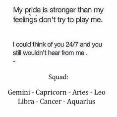 Okay. I\'m going to rant and vent my feelings here  Alright, look. I can\'t be the only one in the world who\'s zodiac sign doesn\'t completely fit me. I\'m a Pisces, and you wouldn\'t believe how much I have related to this and others that my sign is not involved in. I do not relate to the romantic, sappy, and completely optimistic Pisces stereotype, and I\'m somewhat sick of everyone believing that\'s who I am  Okay Rant over