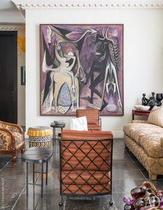 Jacques Grange designed home in London