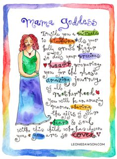 How to be a Goddess: free poster Sacred Feminine, Divine Feminine, Birth Affirmations, Trust Yourself, Inspire Me, Wise Words, Bible Verses, Positivity, Lettering