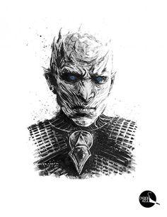 Camiseta Rei da Noite - Night King - Game Of Thrones