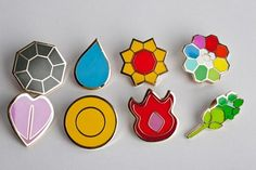 411mania.com: Games - Top 8 Gaming Merchandise Items. Pokemon Gym Badges win. Agree? #Taymai?