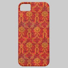 Red and Gold Vintage iPhone 5 Case by Graphic Allusions  $44.95  #iphone5