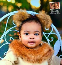 Milani - 9 Months • Puerto Rican & African American ❤