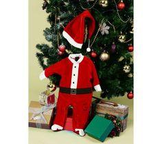 Noel Baba Kostümü (6-9 ay) :: Burcu YAVUZ