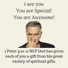 #devotion #Gifts #gifted #LifeCalling #believe #Iseeyou #1peter410 #24hourchallenge