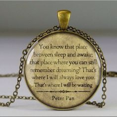 peter pan locket