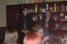 May 2015 with Beth Burrows at Down One Bourbon Bar Bourbon Bar, Magic, Dinner, Dining, Food Dinners, Dinners