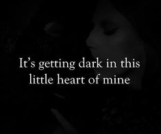 I'm better off with a dark heart. Dark Quotes, Real Quotes, True Quotes, Quotes To Live By, Dark Place Quotes, Qoutes, Super Quotes, Quotes Deep Feelings, Mood Quotes