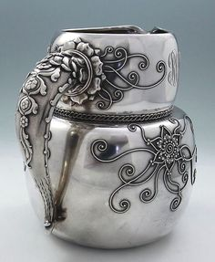 Rare Whiting Antique Sterling Pitcher