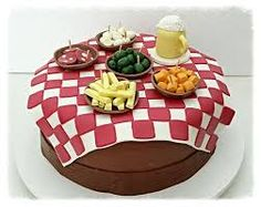 Resultado de imagem para aniversário boteco bolo