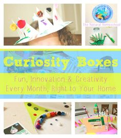 Curiosity Boxes: Fun, Innovation & Creativity Every Month, Right to Your Home (Coupon Code)
