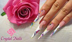 Nails with aquarelle nail design #nail #nails #aquarelle http://www.bestnails.com/nail-designs/combined-nail-decoration