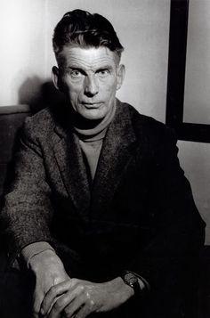 Samuel Beckett by Brassai Samuel Beckett, Michel De Montaigne, Henry Miller, James Joyce, Colin Firth, Julia Margaret Cameron, Brassai, Roy Decarava, Robert Doisneau