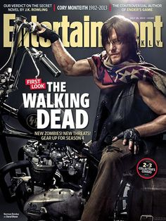 Norman Reedus from The Walking Dead. What a great photo!
