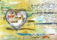 Suddenly art journal page   Various supplies used: inky fabr…   Flickr