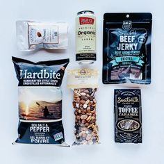 The Beer Box Father's Day Gift Includes:  Mill St. Organic Original Lager 473ml, MHMT Soft Beef Jerky 75g, Sweet & Salty Mix from Going Nuts 235g, English Toffee from Sweetsmith Candy Co 56g, Sea Salt & Pepper Hardbite Chips 150g, Feredies Honey Roasted Peanuts 6oz. Honey Roasted Peanuts are covered in a delicious light honey coating, making the perfect combination of sweet and salty. It's hard to eat just one!   father's day gift // dad's day gift idea #fathersdaygift #dadsdaygiftidea… Gifts For Father, Happy Fathers Day, Father's Day Breakfast, Honey Roasted Peanuts, Curated Gift Boxes, Coffee Cookies, Dad Day, Sweet And Salty, Artisanal