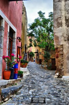 Monemvasia, Greece Wonderful Images, Beautiful Pictures, Street Work, Roasted Chestnuts, Love Your Life, Jessie, Monemvasia Greece, Paths, Pretty Pictures