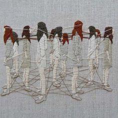 Michelle Kingdom - Embroidery