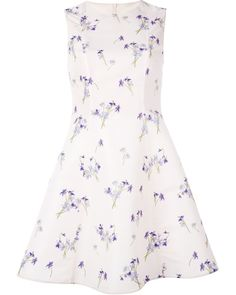 Discount In China printed tea dress - Pink & Purple Red Valentino Outlet Marketable Sale Official Site 53zCTwCV
