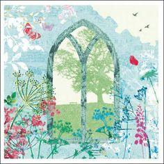 Woodmansterne National Trust Heritage greetings card 399084