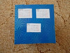 Život s DIY: Recyklo kalendář Smoothie, Office Supplies, Frame, Home Decor, Picture Frame, Decoration Home, Room Decor, Frames, Smoothies