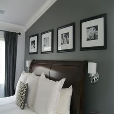 Grey Paint Colors for Bedrooms - Bedroom Home Office Ideas Check more at http://maliceauxmerveilles.com/grey-paint-colors-for-bedrooms/