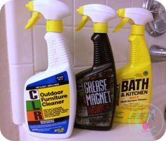 CLR Bath & Kitchen Cleaner makes cleaning easier around the house! #noisegirls