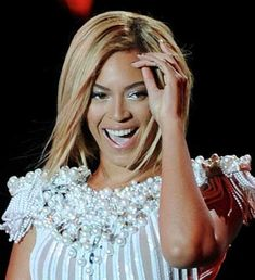 Beyonce new short hair