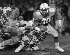 (AP Photo)  Nebraska Heisman Winner, Mike Rozier.  My college years!  They were amazing!