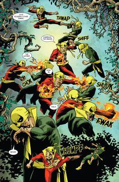 Marvel Comics, Marvel Art, Marvel Heroes, Marvel Comic Character, Comic Book Characters, Comic Books Art, Iron Fist Powers, Alter Ego, Luke Cage Iron Fist
