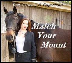 How to match a horse to use, climate, and character in fiction, with expert Rachel A. Chaney.