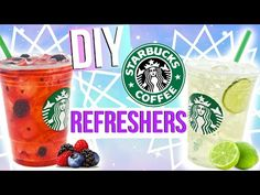 DIY: STARBUCKS ACAI REFRESHER - YouTube