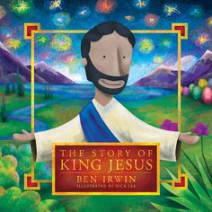 Yesterday, I saw the final cover of my book. With my actual name on it. Apparently, they're really letting me do this. (Yeah, I'm surprised too.) As of today, my book has a title, a cover, and a release date. The Story of King Jesus will be published on March 1, 2015.