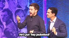 Jack Whitehall's text from Chico pt 3 BFQ