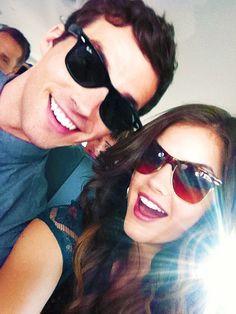 Ian & Lucy...I don't think Ezra is A. No way