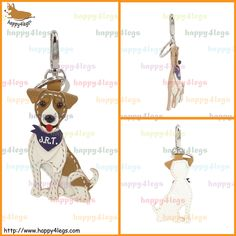 Jack Russell Terrier Genuine Leather Bag Charm http://www.happy4legs.com/#!jack-russell-terrier-bag-charm-1/c47o9