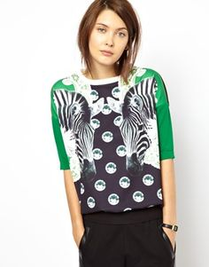 Buy Emma Cook Rugby Top with Zebra Print at ASOS. With free delivery and return options (Ts&Cs apply), online shopping has never been so easy. Get the latest trends with ASOS now. Geek Girls, Saved Items, Zebra Print, Rugby, Polka Dot Top, Fashion Accessories, Asos, Style Inspiration, My Style