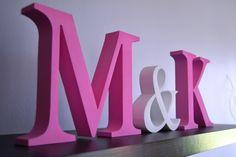 Dowolne inicjały 3D - grube literki na ślub wesele (5525343734) - Allegro.pl - Więcej niż aukcje.