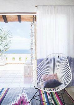 boho beach house vib