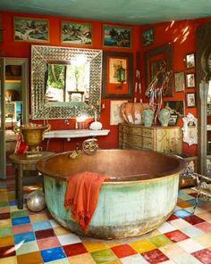 DECORAÇÃO - 20 Banheiros Bacanas