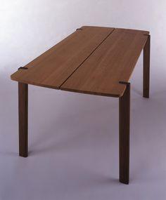 Taula, dissenyador-fabricant japones amb una col·leccio magnifica #disseny-fabricant #taula #veure+