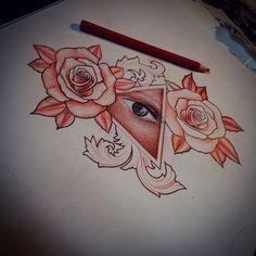 Roses and aye design