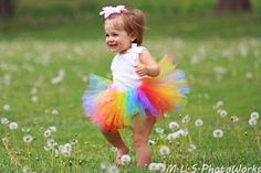 Or maybe Nohea will rock a rainbow tutu to the ceremony....Candy Rainbow TuTu  Newborn 3 6 9 12 Months  by OnceUponATimeTuTus, $15.99