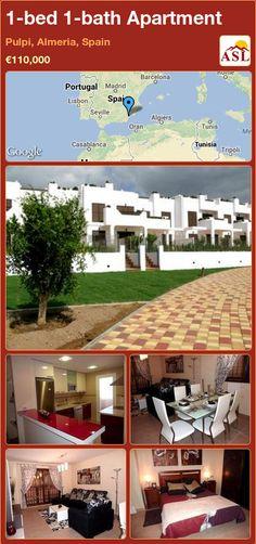 1-bed 1-bath Apartment in Pulpi, Almeria, Spain ►€110,000 #PropertyForSaleInSpain
