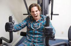 Scott McGillivray taking a break in the gym! #PathwayEvents